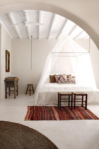PUNTXET Hotel San Giorgio en Mykonos ¡Espectacular! #deco #decoracion #hogar #home dormitorio #bedroom #estilobohemio #bohemianstyle #travel #hotel