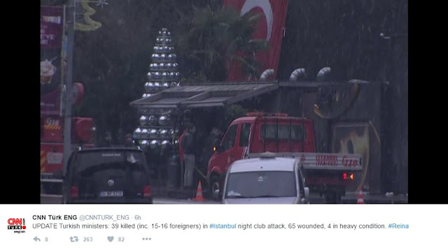 NEWS | Manhunt Underway After Gunman Kills 39 in Istanbul Nightclub Attack