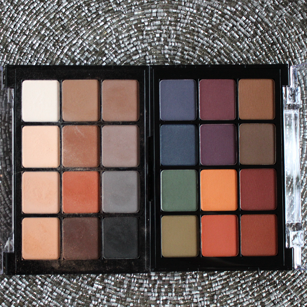 viseart eyeshadow palette dark mattes, viseart eyeshadow palette neutral matte, viseart, eyeshadow palette bridal satin, review, swatch