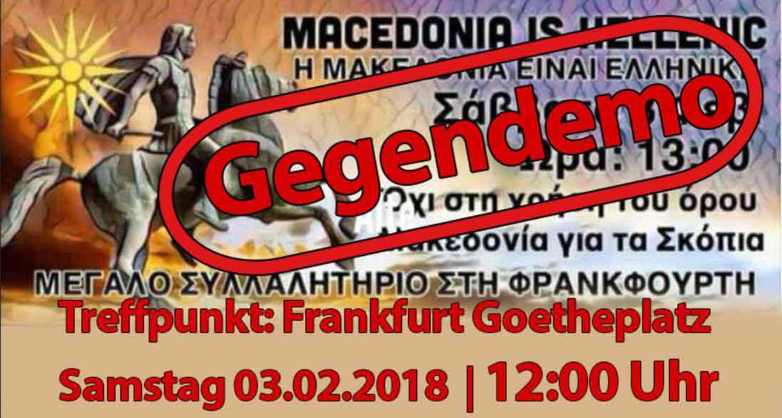 Morgen Frankfurt mazedonier mit gegendemo morgen in frankfurt neues aus mazedonien