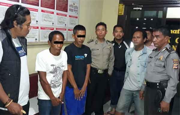 pemalak di kutagara kota cirebon ditangkap polisi