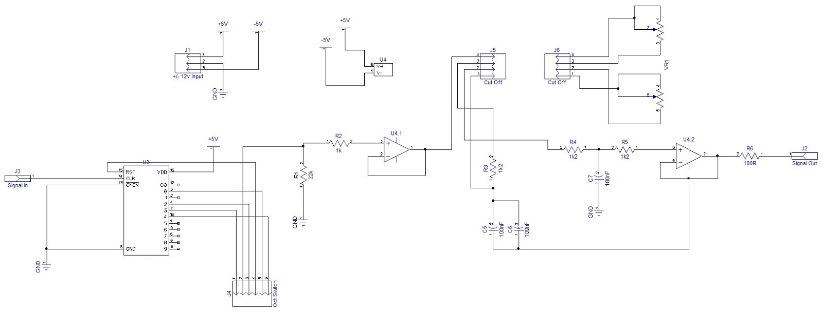Um16 Sla Battery Charger Amongst Projects Download Image Bc549c Condenser Microphone Pre Amplifier Schematics Pc My Rather Messy Schematic For The Sub Oscillator Note Power Input Is 5v
