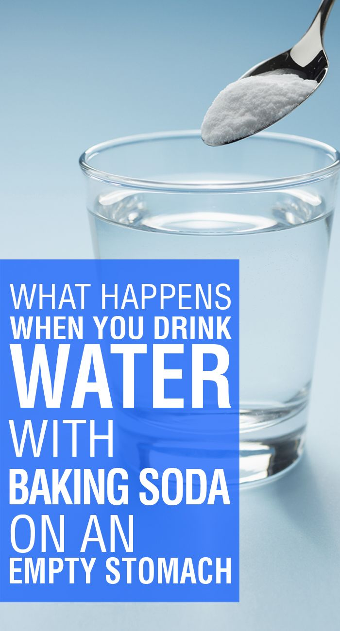 What Happens When You Drink Baking Soda With Water