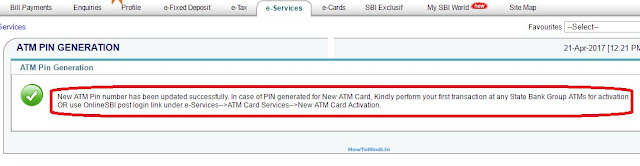 how to recover forgotten sbi atm pin