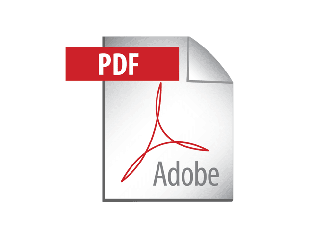 Free Design Elements: Adobe PDF Icon - Vector Logo