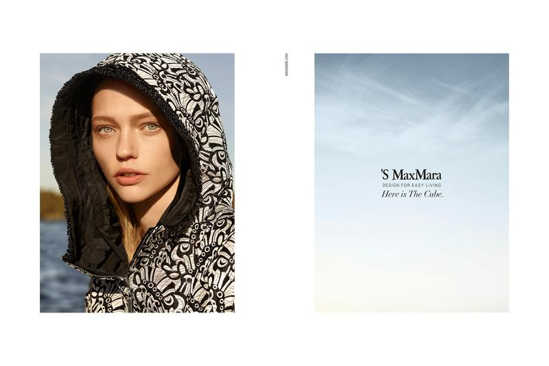 Sasha Pivovarova by Karim Sadli for 'S Max Mara S/S 16