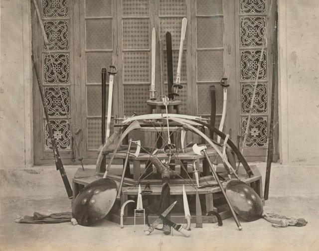 Maharaja of Scindia's Weopons - c1875