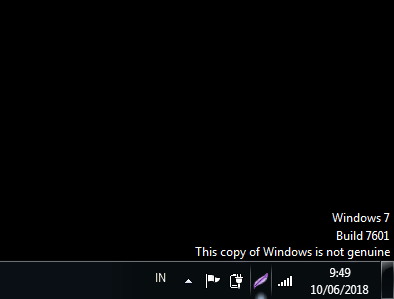 Cara Mudah Mengatasi Windows Is Not Genuine Pada Windows 7