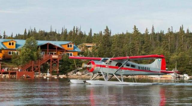 Tempat Wisata Kaum Berduit di Alaska, Larsen Bay Lodge