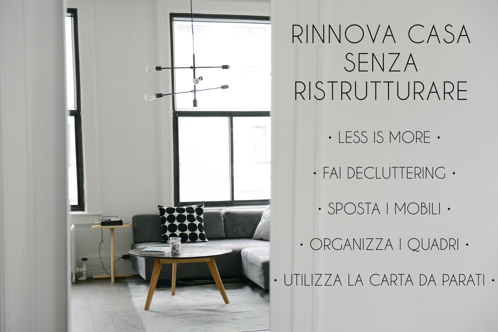 Rinnovare casa senza lavori di ristrutturazione studiomag interior design - Lavori di ristrutturazione casa ...