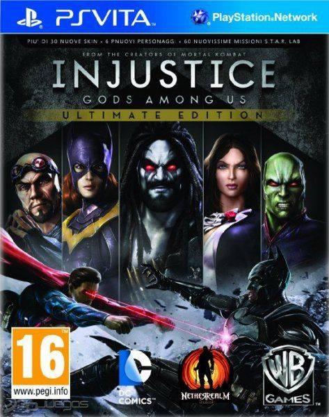Descarga Injustice Para Ps Vita Mail Juegos Ps Vita Vpk Gratis