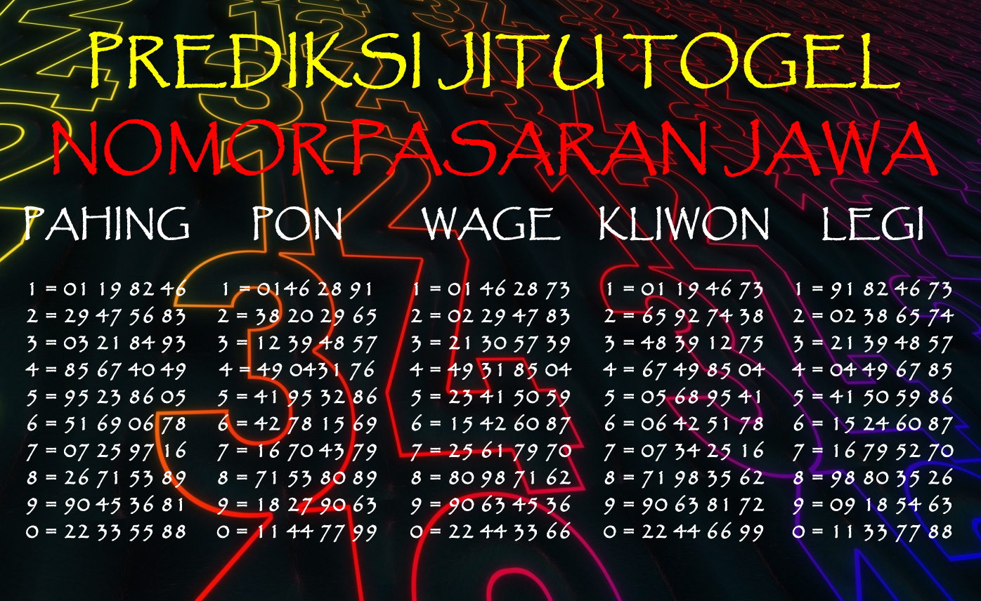 Agen Darat Togel Fajar Pakong Pools Indonesia
