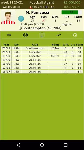 Football Agent Mod