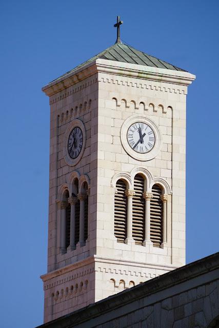מגדל עם שעון בנצרת