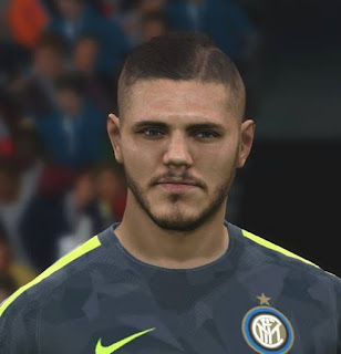 PES 2017 Faces Mauro Icardi by FaceEditor Jefferson_SF