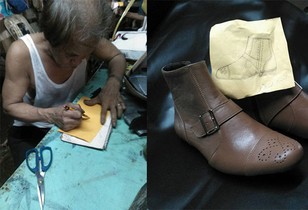 Duterte wears gift of 68-year-old Marikina shoemaker