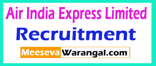 Air India Express Limited AIEL Recruitment