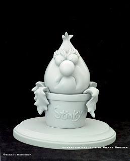 "pierre rouzier_Sesame Workshop - ""stinky stinkweed"" maquette"