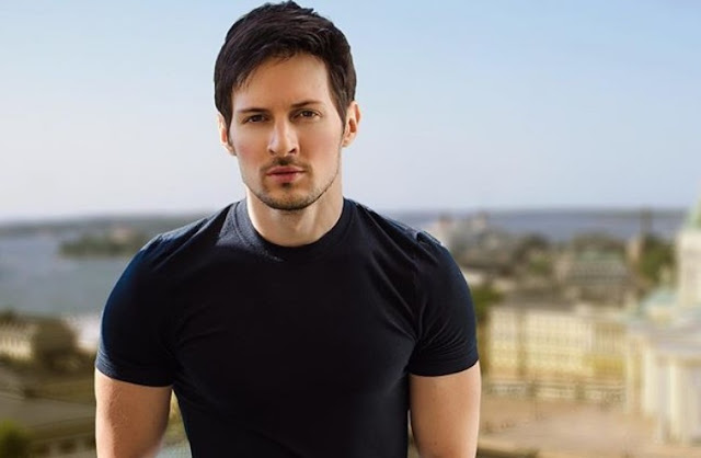 CEO Telegram Pavel Durov Handsome Photo