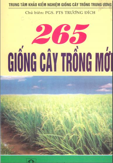265 giống cây trồng mới
