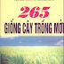 265 giống cây trồng mới - PGS.TS Trương Đích