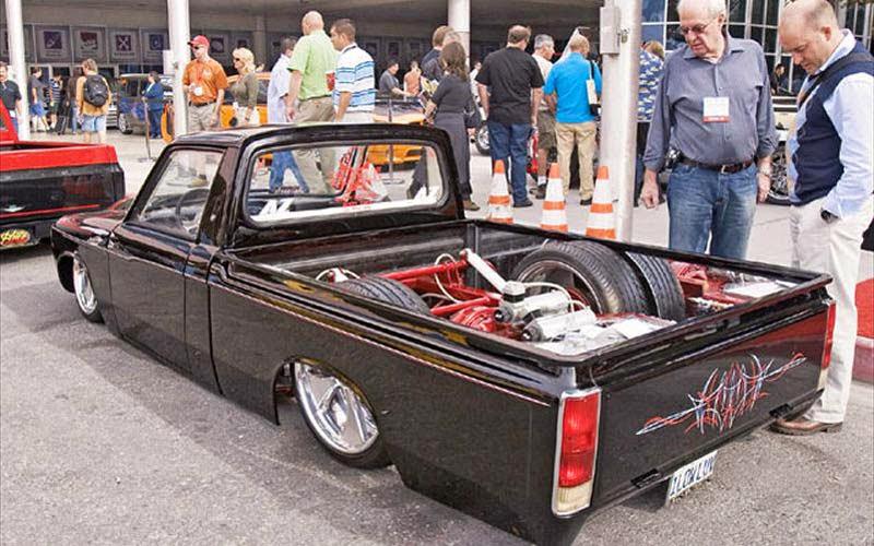 Dunia Modifikasi: Modifikasi Mobil Pick Up Chevrolet LUV