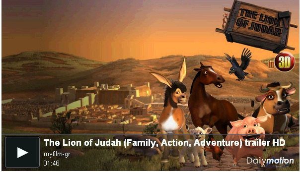 Trailer de la pelicula The Lion of Judah [720p HD] 2012