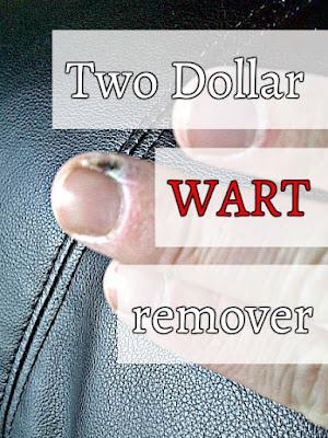 http://fixlovely.blogspot.ca/2014/01/two-dollar-wart-remover.html