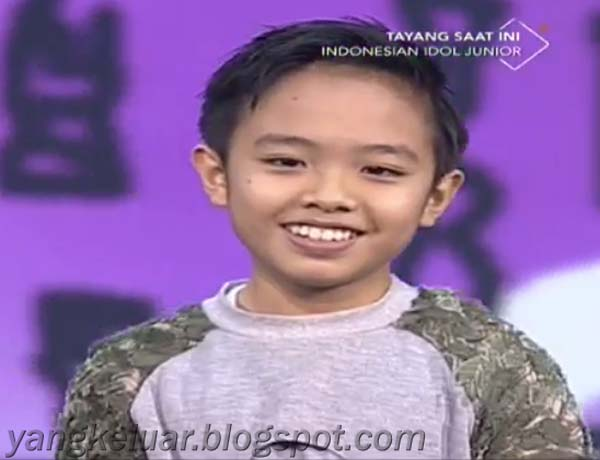 Indonesian Idol Junior 2018 Deven