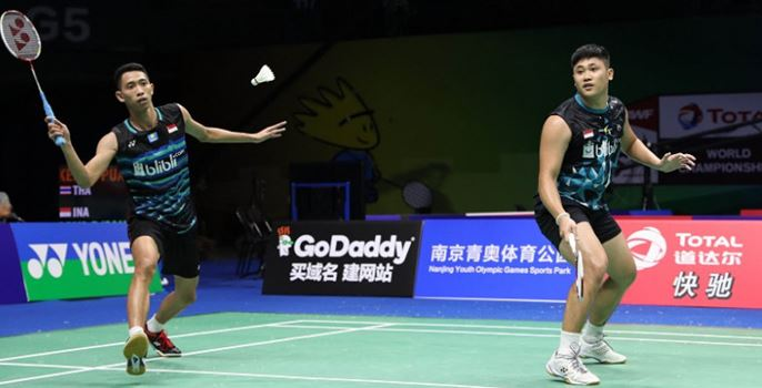 Wahyu Nayaka Arya Pangkaryanira-Ade Yusuf Santoso Dutch Open