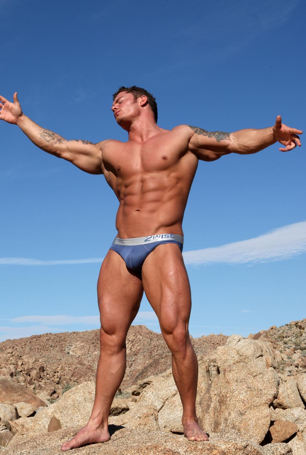in desert the man Gay hih