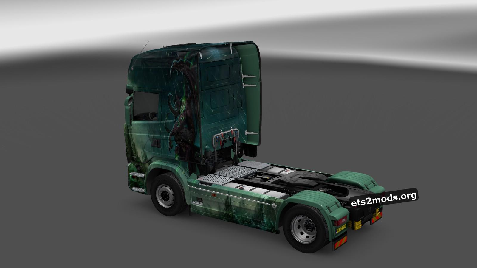 Gargulia Skin for Scania Streamline
