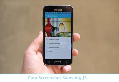 Cara Screenshot Samsung J3 (Termudah.com)