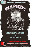 Concierto de Idealipsticks y Mezcalina Jones en Café la Palma