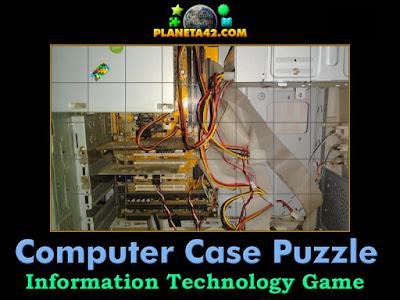 A simple computer case puzzle