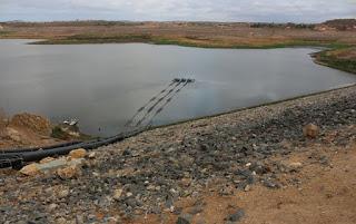 Volume do açude de Boqueirão sobe para 4% com recarga de águas da transposição