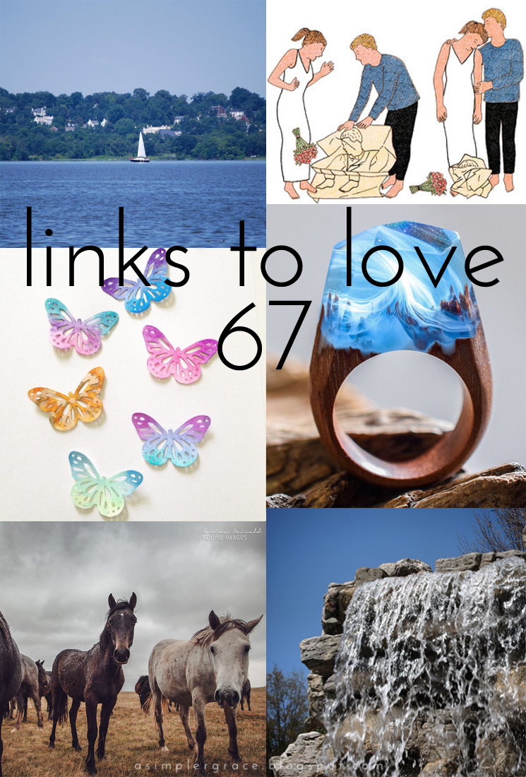 A post featuring my favorite reads from the week.  #linkstolove #fridayfavorites - Links to Love | 67 - A Simpler Grace
