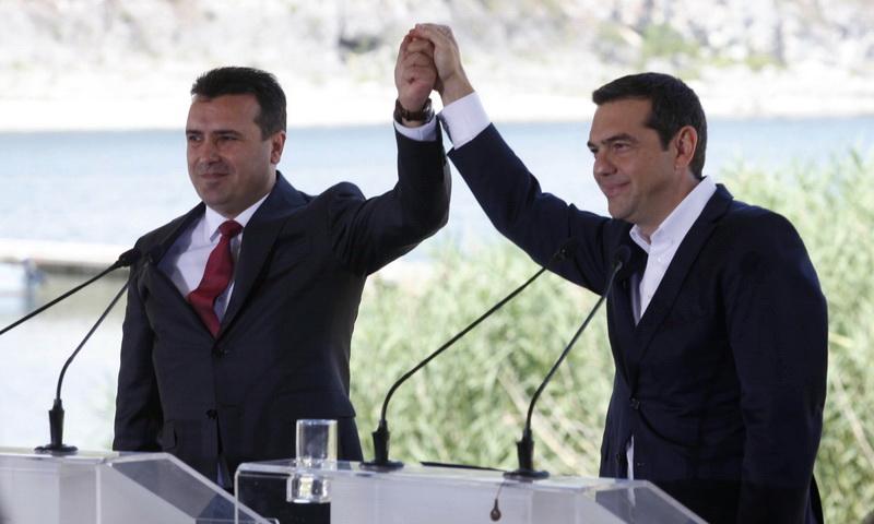 Ο Τσίπρας δίνει επίσημα το εισιτήριο για το ΝΑΤΟ στα Σκόπια και ανάβει το φυτίλι των εκλογών