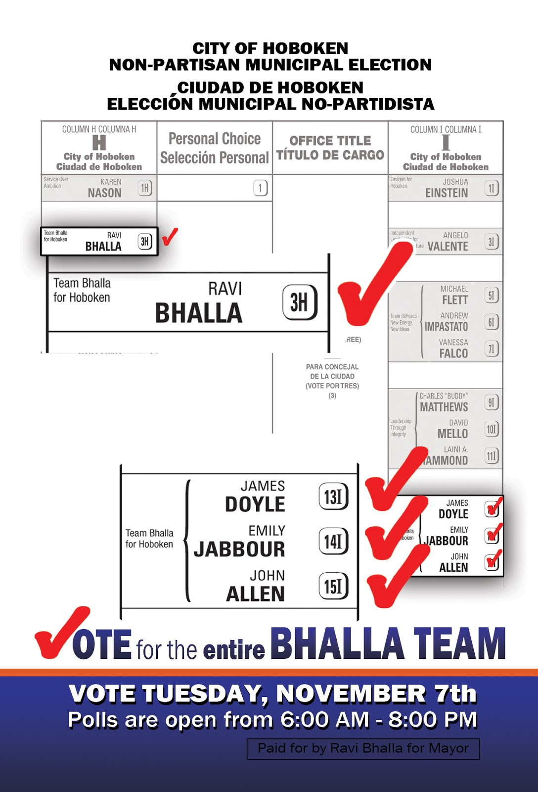 Why You Should Vote For Me Ravi Bhalla