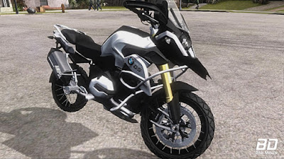 Download mod moto BMW GS1200R 2015 para GTA San Andreas, Jogo GTA SA PC