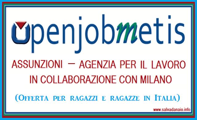 Offerte lavoro ragazzi e ragazze a Milano