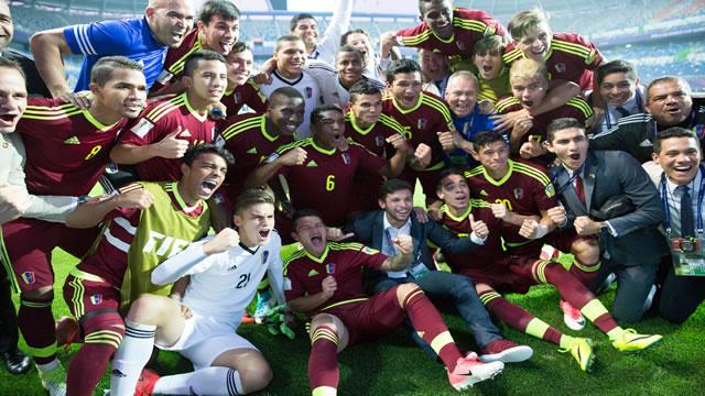 La Vinotinto se mete en la final del Mundial Sub-20