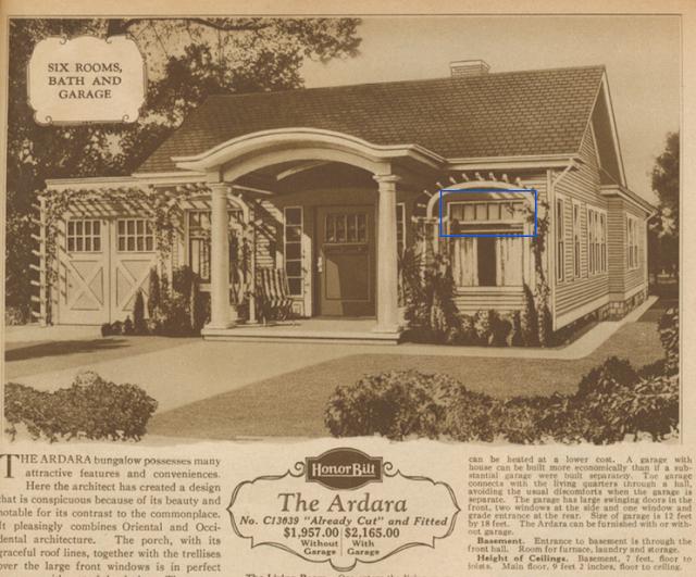 Sears Ardara model in the catalog