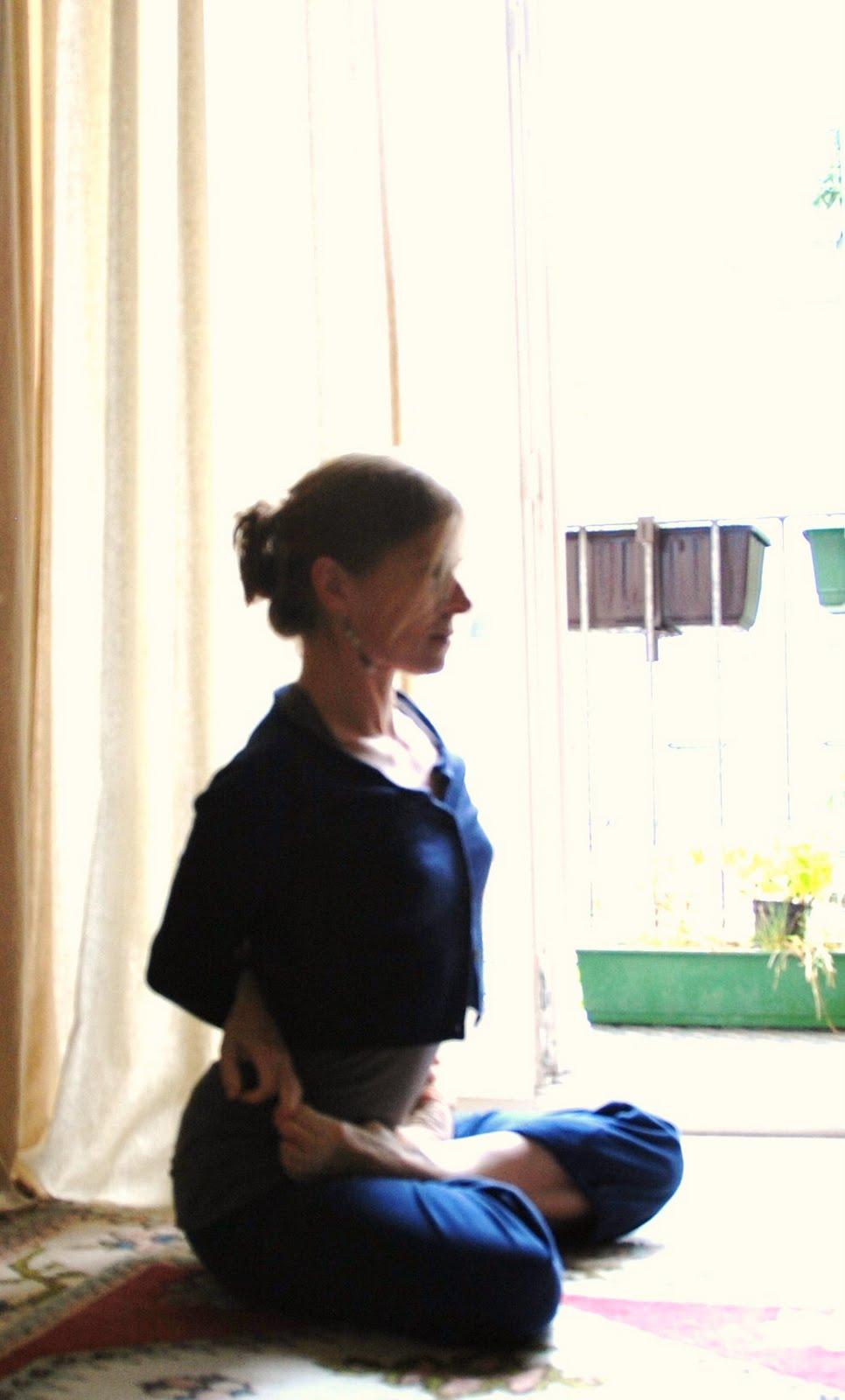 My Yoga Blog: Supta vajrasana - an asana that requires a ...