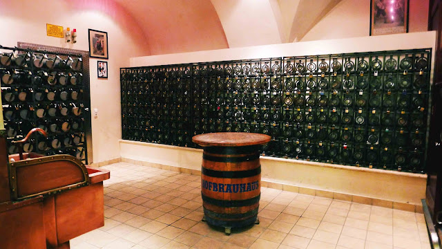 Hofbrauhaus Beer Lockers