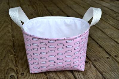 einfachbuntquilts, bunny basket