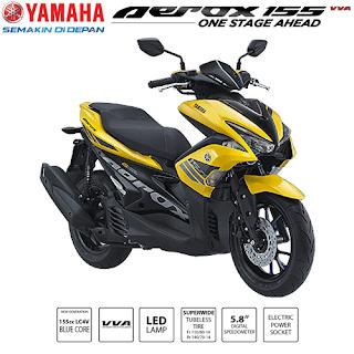 Yamaha Aerox 155 VVA Matic Keren Kencang Bertenaga dan Irit