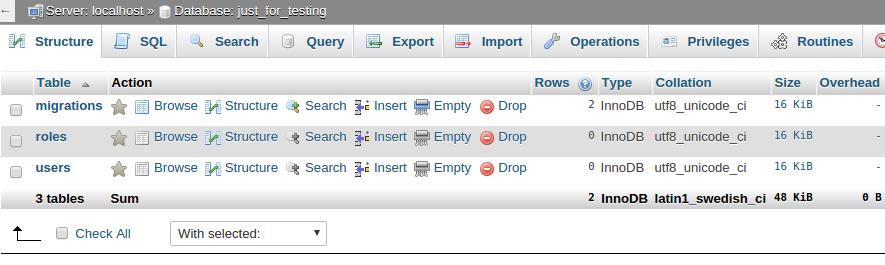 How to create database migration in Laravel 4 2 - Laravel