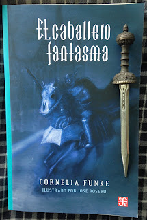 Portada del libro El caballero fantasma, de Cornelia Funke