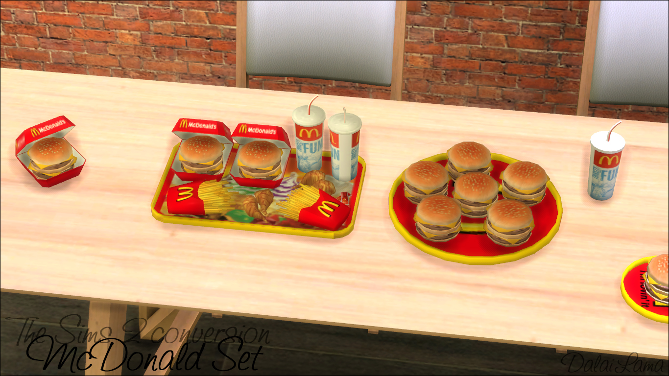 Sims  Birthday Cake